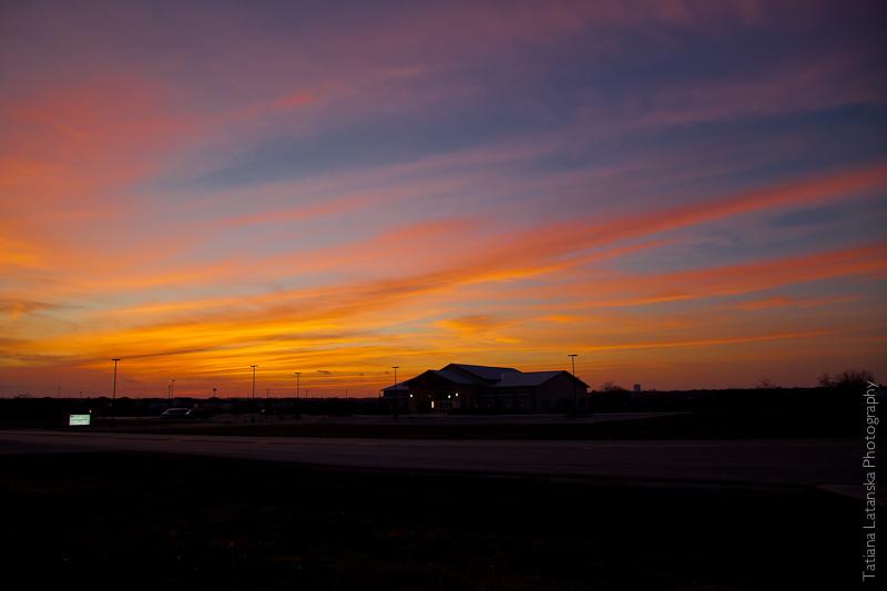 Техасский закат 2