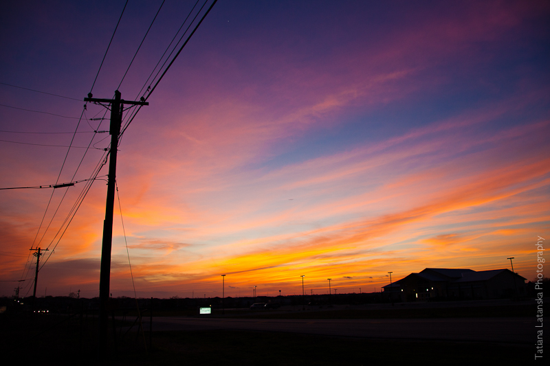 Техасский закат