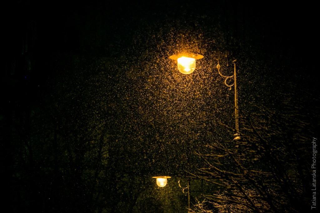 Красивые фотографии ночного Кракова